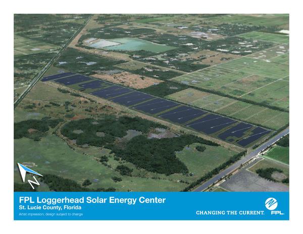 Map Of St Lucie County Florida.Fpl Clean Energy Solar Loggerhead Energy Center